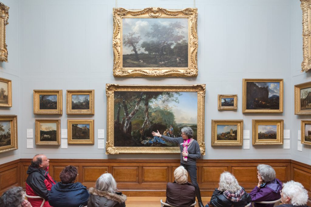 Gallery talk at Dulwich Picture Gallery