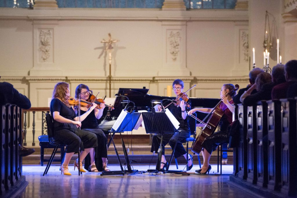 A concert at St Martin-in-the-Fields Church, Trafalgar Square